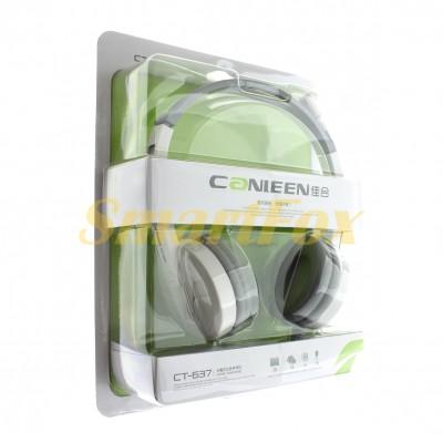 Наушники накладные с микрофоном Canleen CT-637