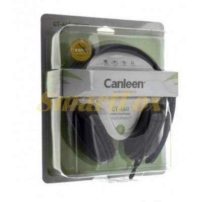 Наушники накладные с микрофоном Canleen CT-660