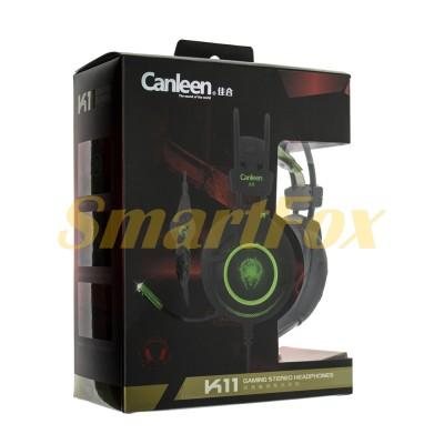 Наушники накладные с микрофоном Canleen K11