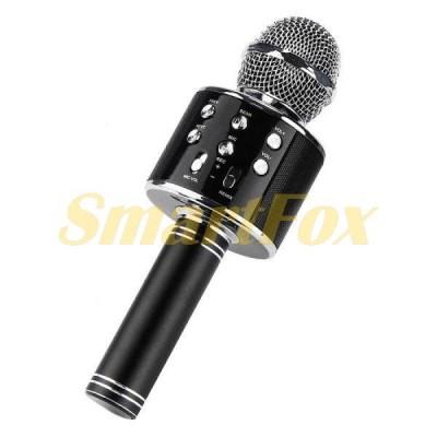 Микрофон-караоке WS-858 (Black)