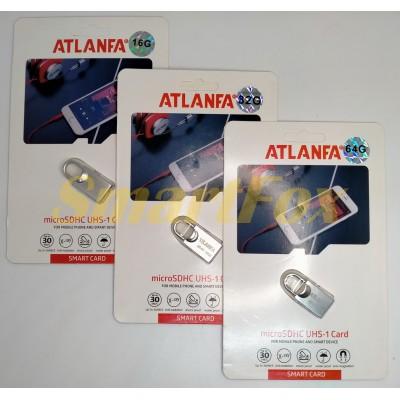 Флеш память USB 2.0 64Gb ATLANFA AT-U7 в виде мини замка