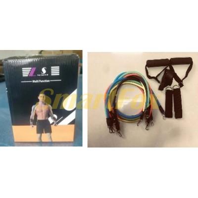 Набор эспандеров для фитнеса и спорта SL-1109