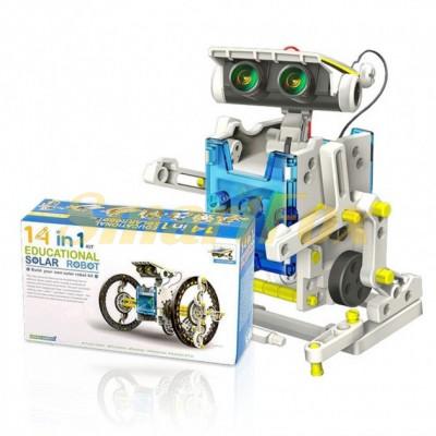 Робот-конструктор на солнечных батареях SL-518-1