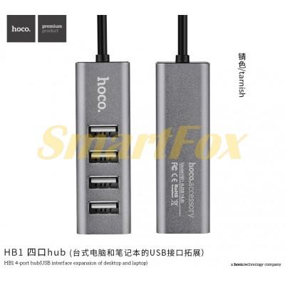 Хаб на 4 порта HOCO HB1-4USB