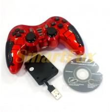 Игровой манипулятор (джойстик) PC/PS3/PS2/PS1/360/TV беспроводной 6 в 1