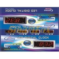 Часы настольные 2368 с красной и синей подсветкой