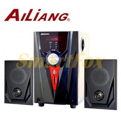 Колонки для PC 2.1 USB FM AiLiang F35DC-DT