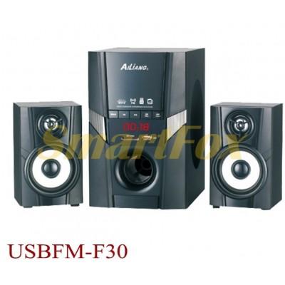 Колонки для PC 2.1 USB FM AiLiang F30DC-DT
