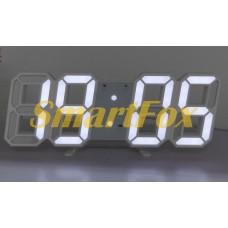Часы настольные SL-6609 с белой подсветкой