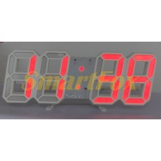 Часы настольные SL-6609 красный (red)