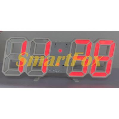 Часы настольные SL-6609 с красной подсветкой