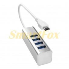 Хаб USB TYPE-C 3.0 на 4 порта