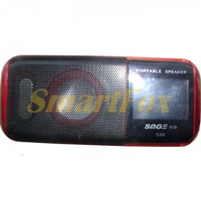 Портативная колонка S 88 с диктофоном