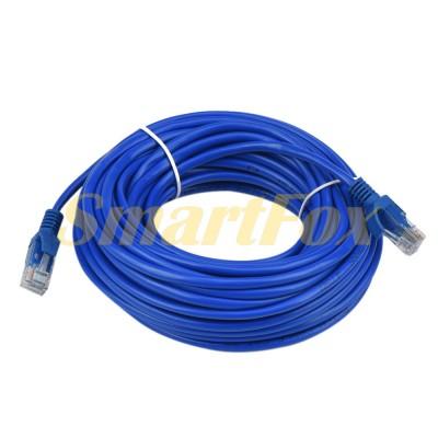 Кабель LAN CAT5 синий (50 м)