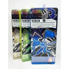 Наушники вакуумные с микрофоном KARLER KR606 (упаковка 8шт, цена за упаковку)