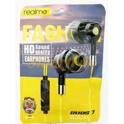 Наушники вакуумные с микрофоном Realme Buds 2 RM1