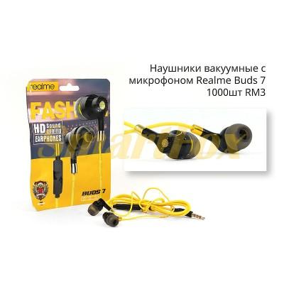 Наушники вакуумные с микрофоном Realme RM3