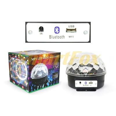 Диско-шар с Bluetooth (без обмена, без возврата)
