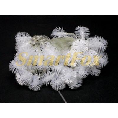 Гирлянда 40-PLASTIC-M-4 40 колокольчиков прозрачный провод (микс) (без возврата, без обмена)