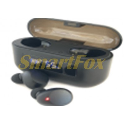 Блютуз гарнитура AIR F9 Pro с сенсорной регулировкой + кейс для зарядки с индикатором + Power Bank