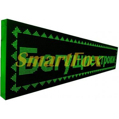 Бегущая строка 265х40 см влагостойкая с WIFI зеленая с удлиненным кабелем под USB флешку G OUT