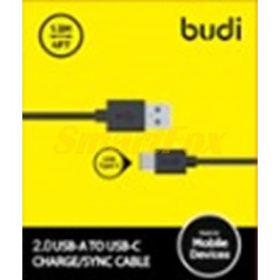 Кабель USB/TYPE-C BUDI