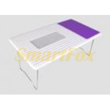 Подставка-стол под ноутбук с вентилятором 550