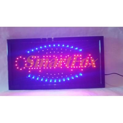 Вывеска светодиодная LED Одежда (48х25 см)