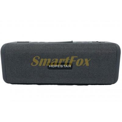 Портативная колонка Bluetooth HOPESTAR T9 влагостойкая тканевая (21.8x8x8 см)
