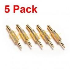 Адаптер 3,5 мм M/F (коннектор) Metal