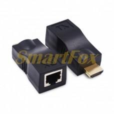 Адаптер HDMI по витой паре RJ45 Cat 5e/6