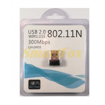 Адаптер USB Wi-Fi LV-UW03 wireless 300mb