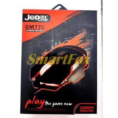 Мышь проводная игровая JEDEL GM770