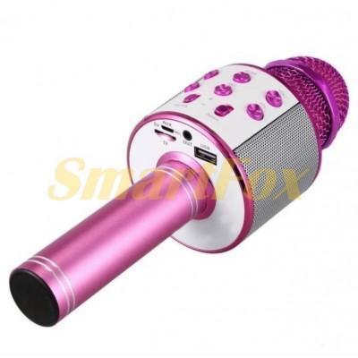 Микрофон-караоке WS-858 (Purple)