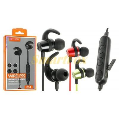 Наушники беспроводные Bluetooth с микрофоном E14