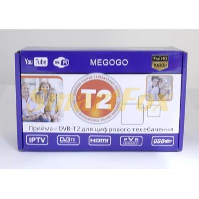 Приставка T2 эфирная цифровая  Megogo (пластик)