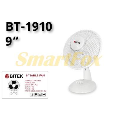 Вентилятор настольный BITEK BT-1910 (цена за 1шт, продажа упаковкой 6шт)