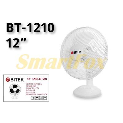 Вентилятор настольный BITEK BT-1210 (цена за 1шт, продажа упаковкой 4шт)