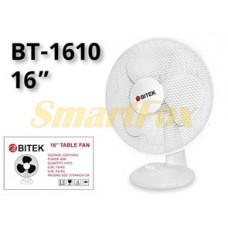Вентилятор настольный BITEK BT-1610 (цена за 1шт, продажа упаковкой 4шт)