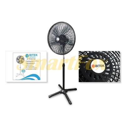 Вентилятор напольный BITEK BT-1881 (цена за 1шт, продажа упаковкой 2шт)