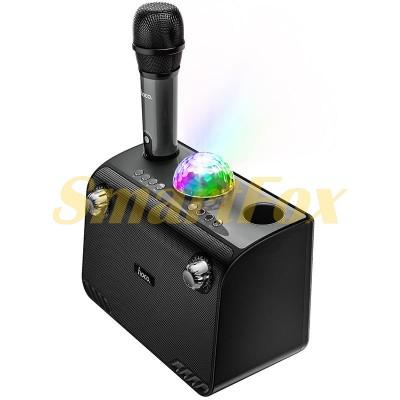 Акустика-караоке Bluetooth HOCO Warm Sound K Song BS41 (TF/USB/AUX, микрофон, 20W)