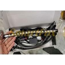 Автомобильная подсветка в салон водонепроницаемая светодиодная от прикуривателя с пультом (18LED) SL