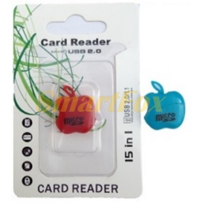 Картридер T-Flash/Micro SD Micro Card Reader APPLE