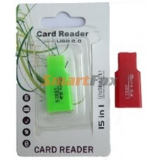Картридер T-Flash/Micro SD Micro Card Reader БУТЫЛКА 2D