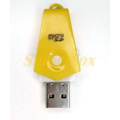 Картридер T-Flash/Micro SD Micro Card Reader ГАЛСТУК