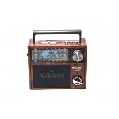 Радиоприемник с USB GOLON RX-201