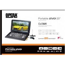 Портативный DVD-проигрыватель с Т2 TV DVD 1580 T2