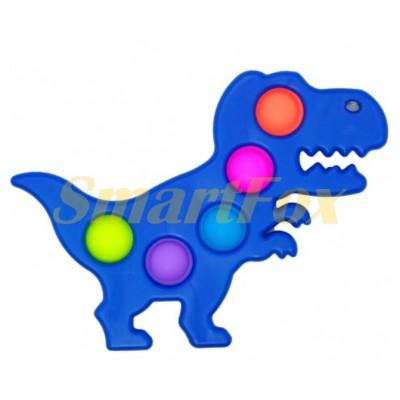 Игрушка-антистресс Pop it Simple Dimple Динозавр