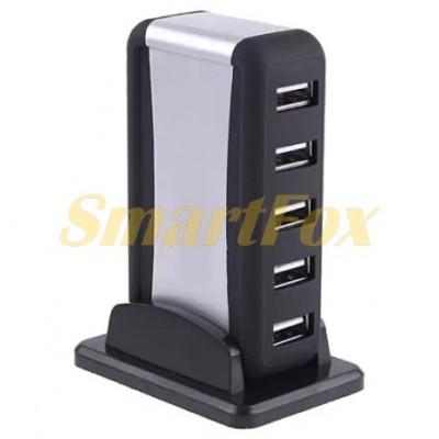 Хаб USB на 7 портов + swithc (9445)