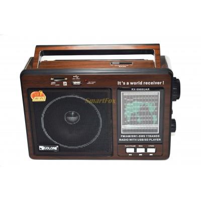 Радиоприемник с USB GOLON RX-9966UAR